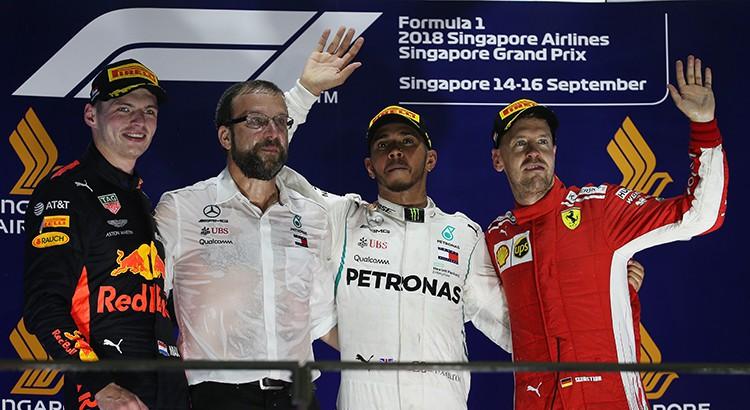 Hamilton intouchable à Singapour